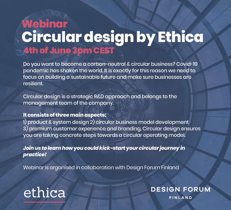 Webinaari: Circular Design by Ethica 4.kesäkuuta