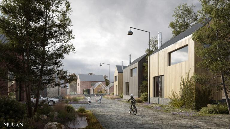 Viherjätteen hajautettu käsittely ja suljettujen kiertojen toteutuminen kaupungissa — Oulun Hartaanselänrannan yleissuunnitelma